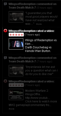 Wings Favourites my Vid!?